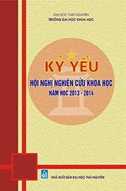 Kỷ yếu Hội nghị nghiên cứu khoa học năm học 2013 - 2014